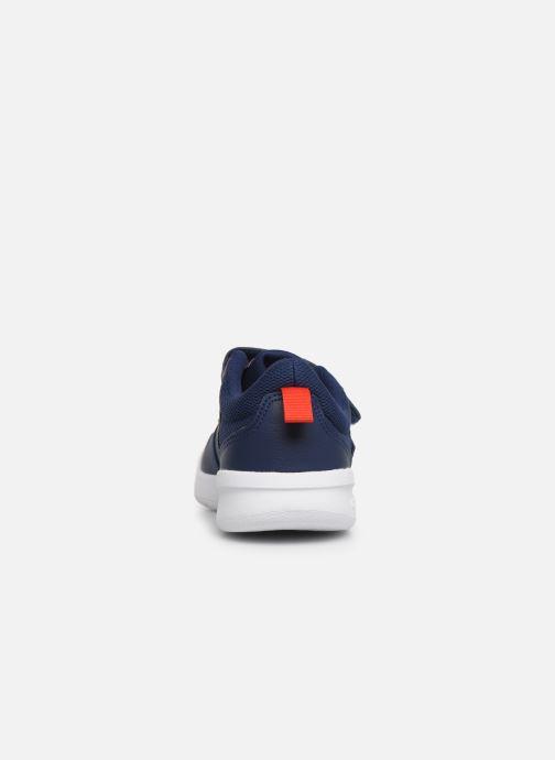 Baskets adidas performance Tensaur C Bleu vue droite