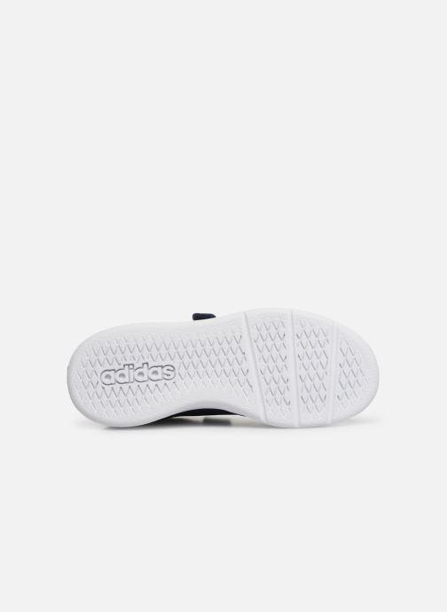Sneakers adidas performance Tensaur C Azzurro immagine dall'alto