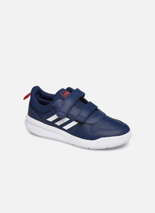 Baskets adidas performance Tensaur C Bleu vue détail/paire