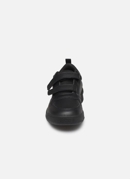 Baskets adidas performance Tensaur C Noir vue portées chaussures