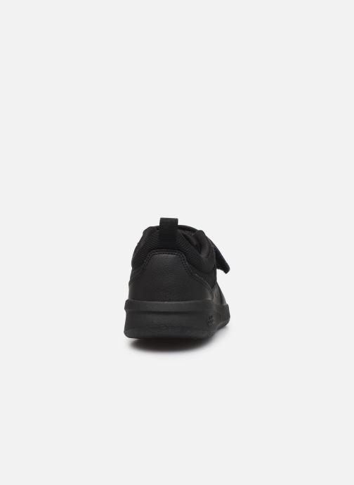 Trainers adidas performance Tensaur K Black view from the right