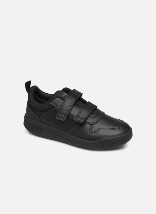 Trainers adidas performance Tensaur K Black detailed view/ Pair view