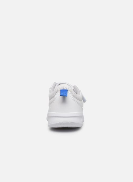 Trainers adidas performance Tensaur K White view from the right