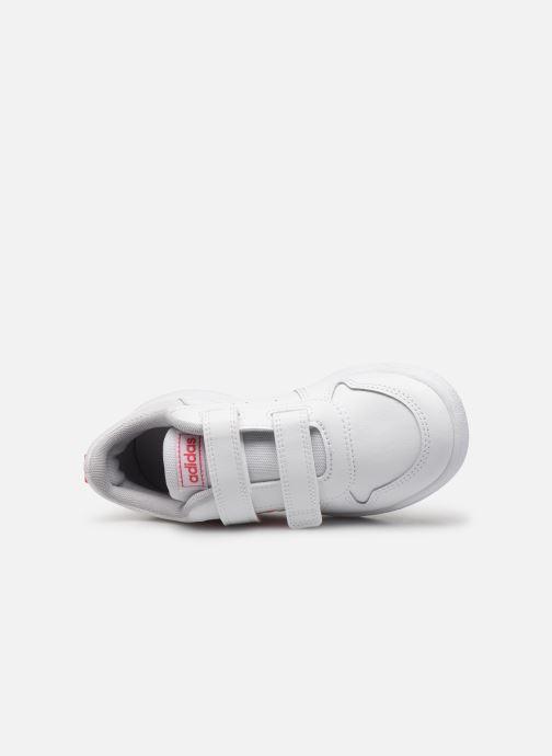 Baskets adidas performance Tensaur C Blanc vue gauche