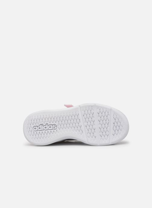 Trainers adidas performance Tensaur K White view from above