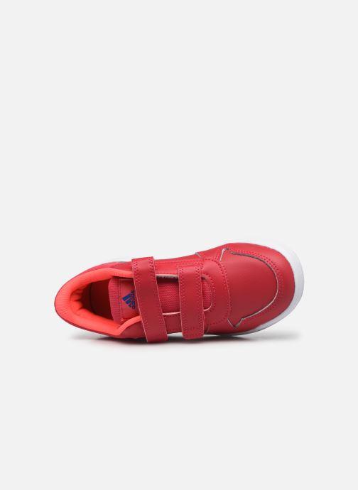 Sneakers adidas performance Tensaur C Rosa immagine sinistra