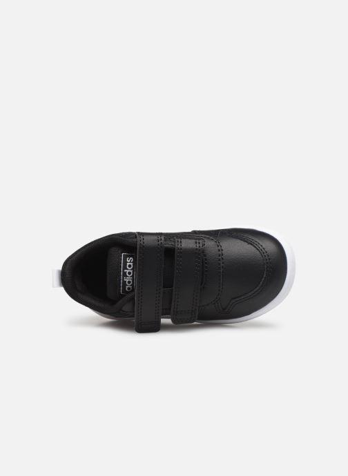 Baskets adidas performance Tensaur I Noir vue gauche