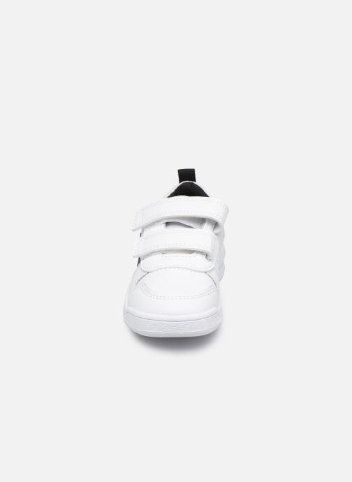 Baskets adidas performance Tensaur I Blanc vue portées chaussures