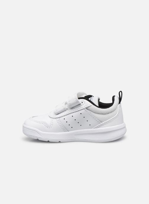 Sneakers adidas performance Tensaur I Hvid se forfra