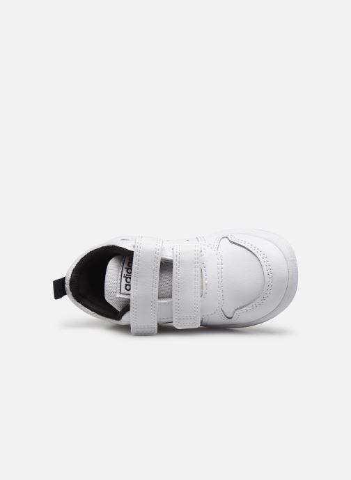 Baskets adidas performance Tensaur I Blanc vue gauche