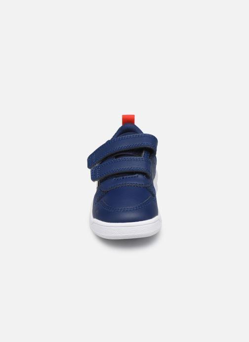Baskets adidas performance Tensaur I Bleu vue portées chaussures