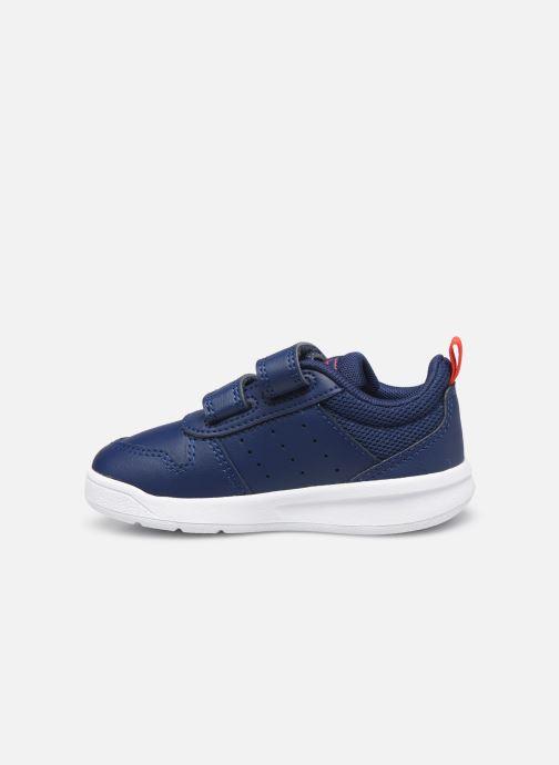 Sneakers adidas performance Tensaur I Blå se forfra