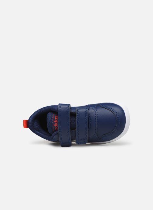 Baskets adidas performance Tensaur I Bleu vue gauche