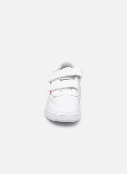 Baskets adidas performance Tensaur I Rose vue portées chaussures