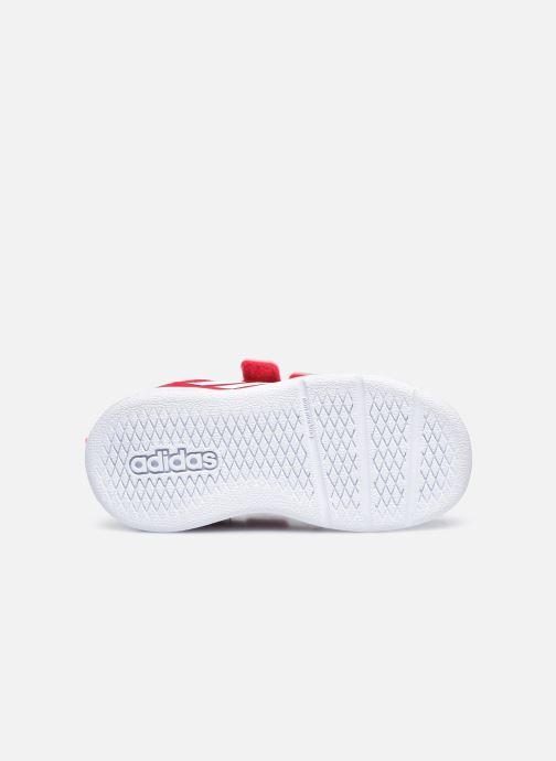 Sneakers adidas performance Tensaur I Rosa immagine dall'alto
