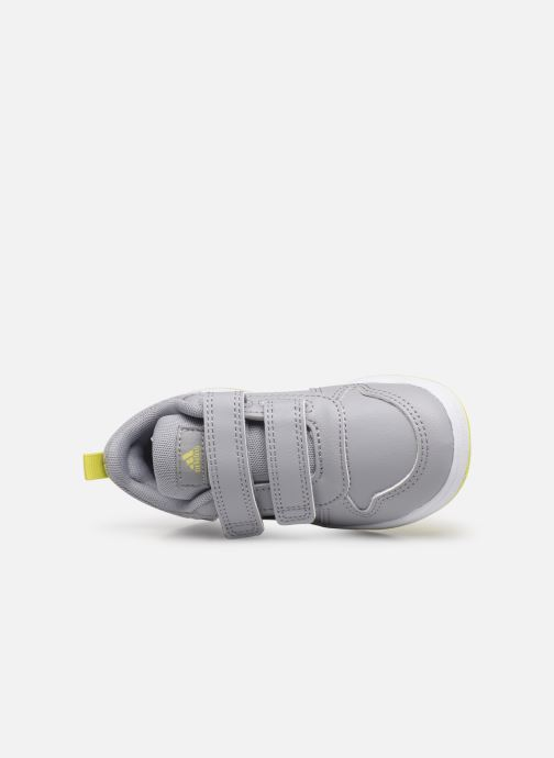 Sneaker adidas performance Tensaur I grau ansicht von links