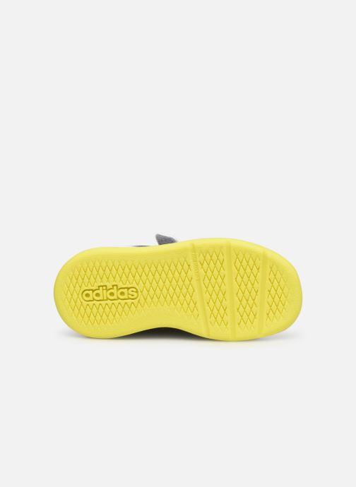 Sneaker adidas performance Tensaur I grau ansicht von oben