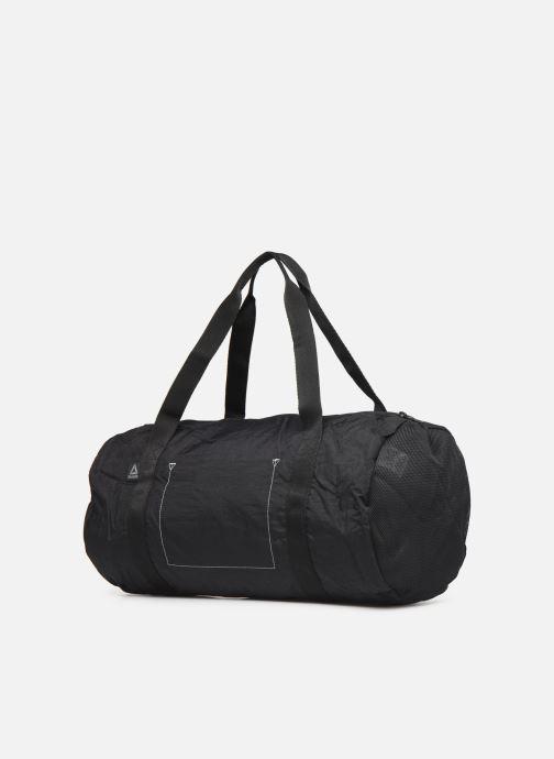 Sacs de sport Reebok W FOUND CYLINDER BAG Noir vue droite
