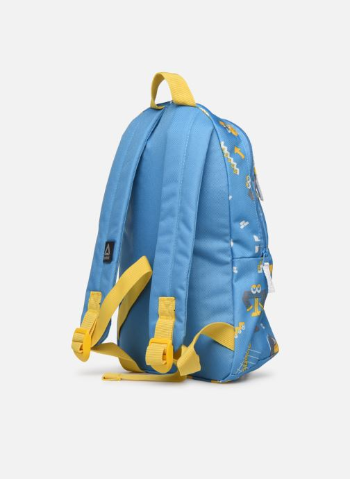 School bags Reebok KIDS SMALL AOP BP Blue view from the right