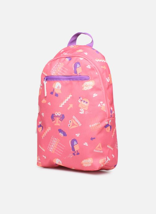 School bags Reebok KIDS SMALL AOP BP Pink model view