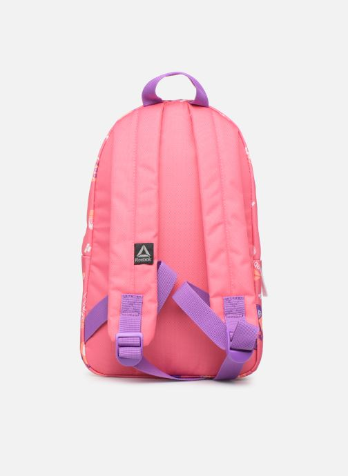 School bags Reebok KIDS SMALL AOP BP Pink front view