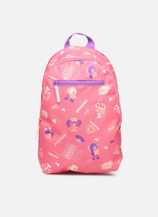 Schooltassen Reebok KIDS SMALL AOP BP Roze detail