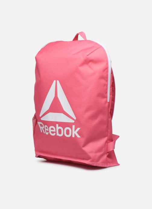 Rucksäcke Reebok ACT CORE BKP S rosa schuhe getragen