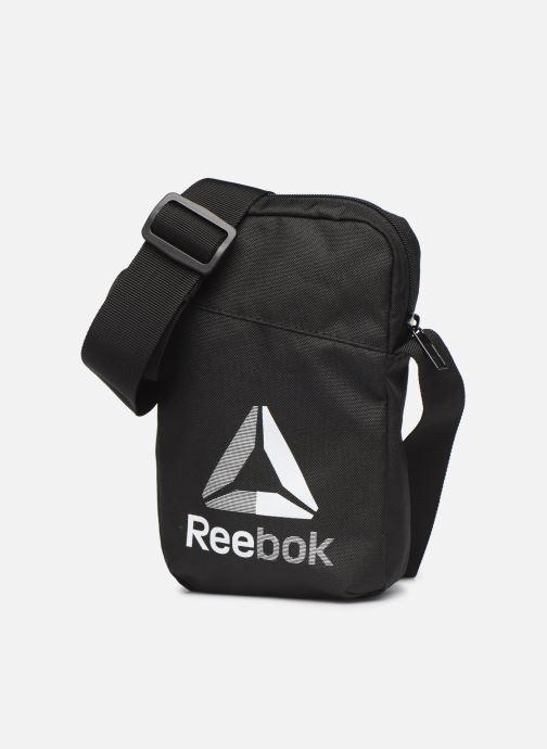 Bolsos de hombre Reebok TE CITY BAG Negro vista del modelo