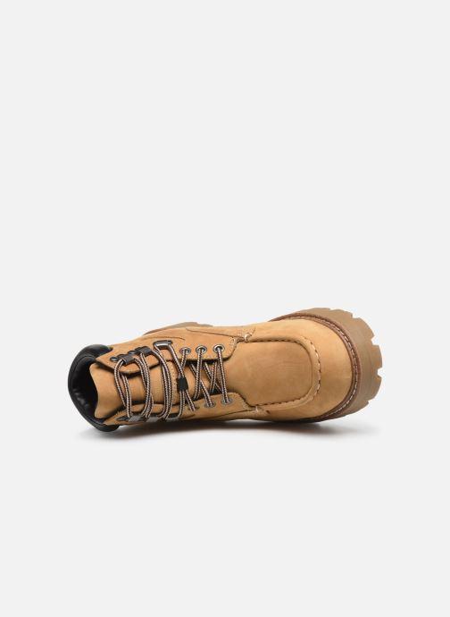 Botines  Vagabond Shoemakers COSMO  4849-250-13 Beige vista lateral izquierda