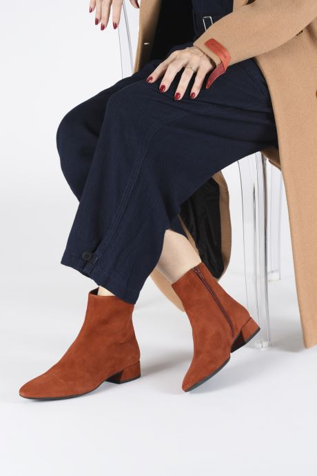 Bottines et boots Vagabond Shoemakers JOYCE 4608-140-43 Rouge vue bas / vue portée sac