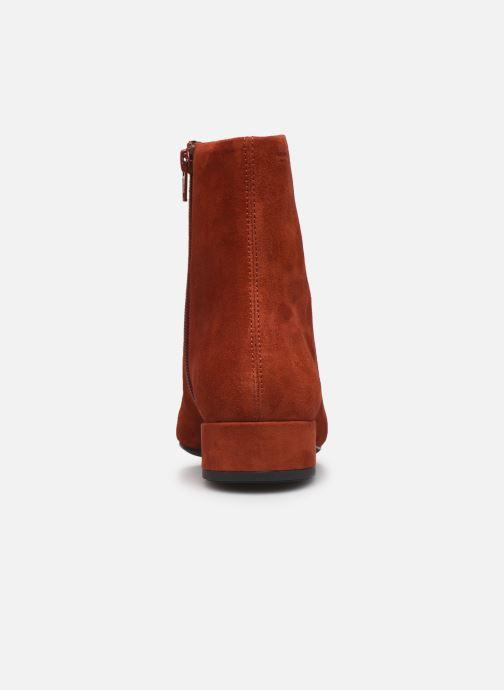 Botines  Vagabond Shoemakers JOYCE 4608-140-43 Rojo vista lateral derecha