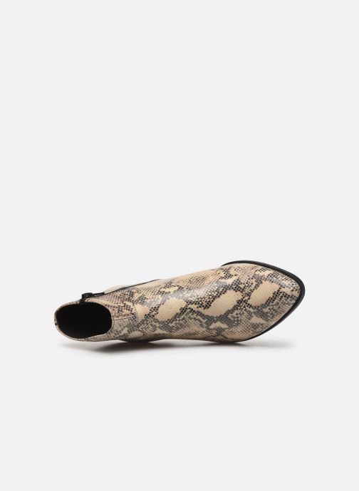 Botines  Vagabond Shoemakers LARA  4815-308-87 Beige vista lateral izquierda