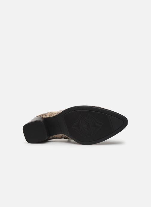 Boots en enkellaarsjes Vagabond Shoemakers LARA  4815-308-87 Beige boven
