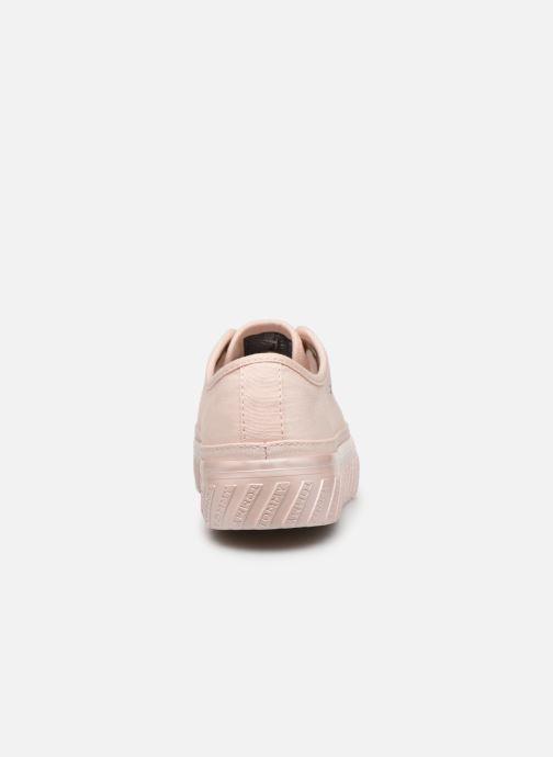 Sneaker Tommy Hilfiger OUTSOLE DETAIL FLATFORM SNEAKER rosa ansicht von rechts