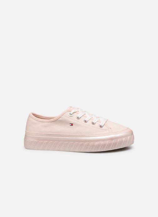 Sneakers Tommy Hilfiger OUTSOLE DETAIL FLATFORM SNEAKER Pink se bagfra