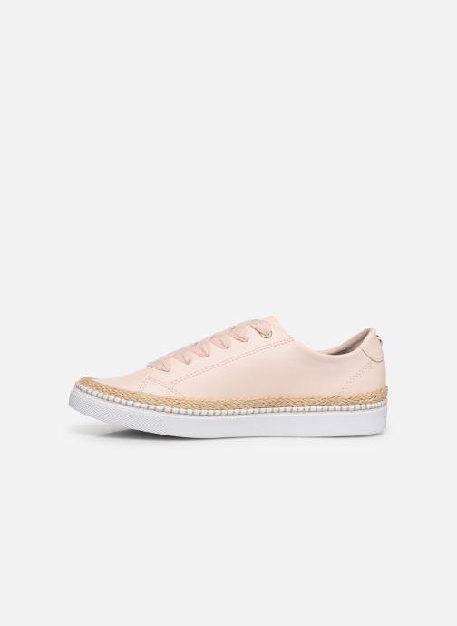 Sneakers Tommy Hilfiger TOMMY JUTE CITY SNEAKER Pink se forfra