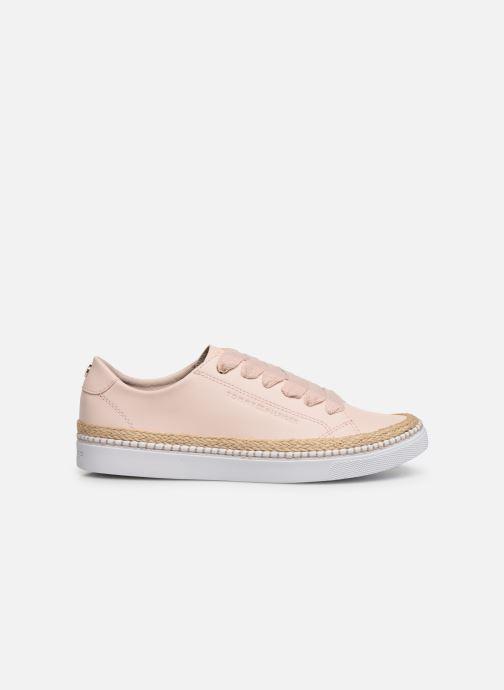 Sneakers Tommy Hilfiger TOMMY JUTE CITY SNEAKER Pink se bagfra