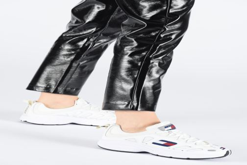 Sneakers Tommy Hilfiger WMNS TOMMY JEANS RETRO SNEAKER Wit onder