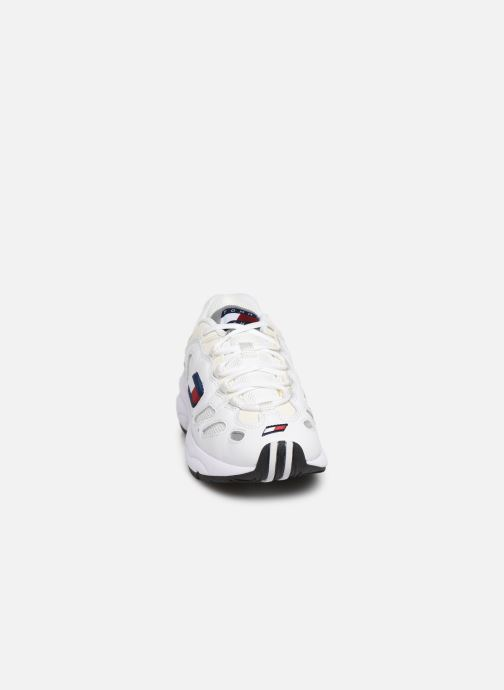 Sneakers Tommy Hilfiger WMNS TOMMY JEANS RETRO SNEAKER Hvid se skoene på
