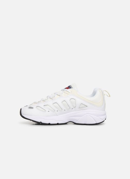 Baskets Tommy Hilfiger WMNS TOMMY JEANS RETRO SNEAKER Blanc vue face