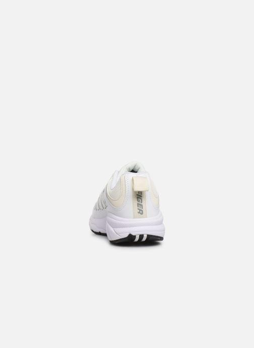 Sneakers Tommy Hilfiger WMNS TOMMY JEANS RETRO SNEAKER Hvid Se fra højre