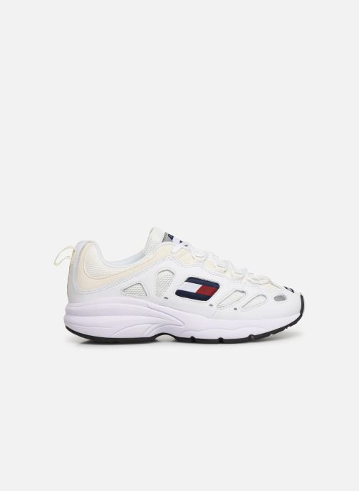 Sneakers Tommy Hilfiger WMNS TOMMY JEANS RETRO SNEAKER Wit achterkant