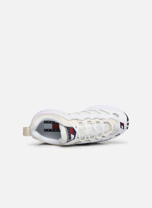 Sneakers Tommy Hilfiger WMNS TOMMY JEANS RETRO SNEAKER Hvid se fra venstre