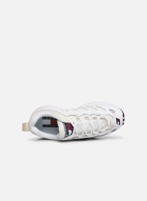Sneakers Tommy Hilfiger WMNS TOMMY JEANS RETRO SNEAKER Wit links