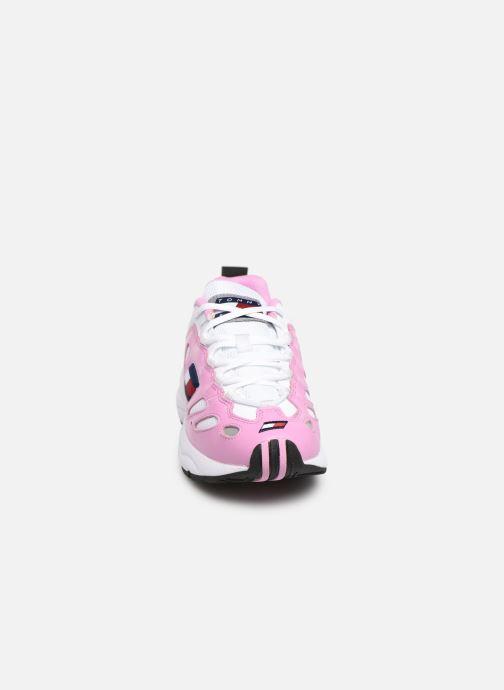 Sneakers Tommy Hilfiger WMNS TOMMY JEANS RETRO SNEAKER Pink se skoene på