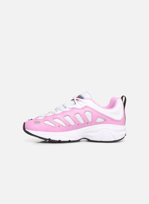 Sneakers Tommy Hilfiger WMNS TOMMY JEANS RETRO SNEAKER Pink se forfra