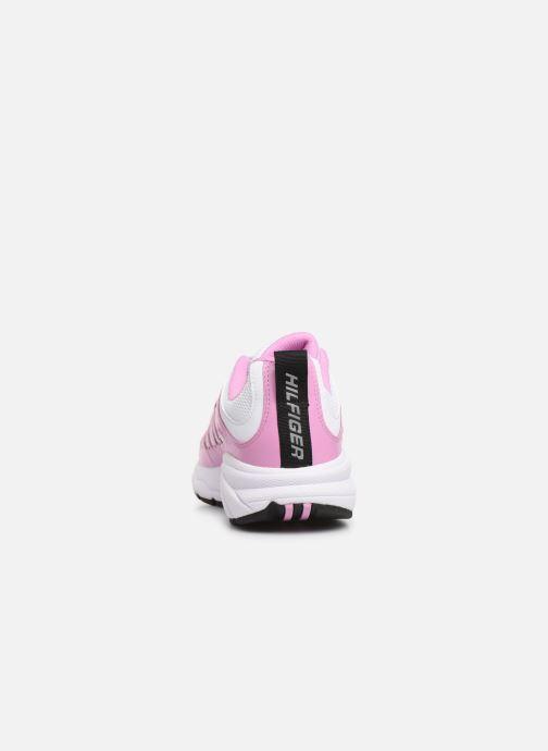 Sneakers Tommy Hilfiger WMNS TOMMY JEANS RETRO SNEAKER Pink Se fra højre
