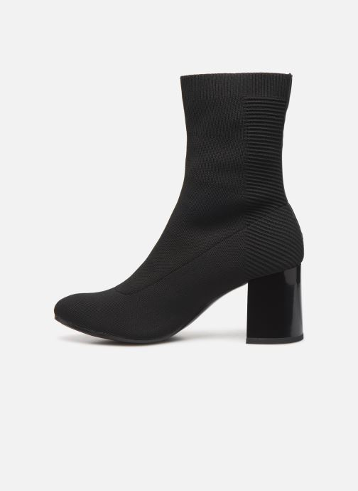 Bottines et boots Tommy Hilfiger HEELED BOOT Noir vue face