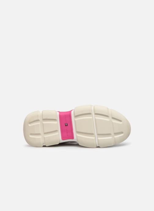 Sneaker Tommy Hilfiger WMNS POP COLOR CHUNKY SNEAKER mehrfarbig ansicht von oben