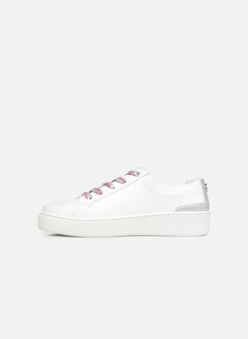 Baskets Tommy Hilfiger GLITTER DETAIL DRESS SNEAKER Blanc vue face